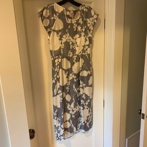 Pretty Boden silk dress, never worn.
